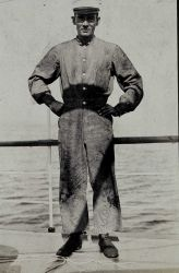 Chief Engineer George Hutchison. Photo