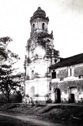 The church built in 1621 at Morona. Photo