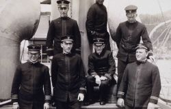 Officers on the MCARTHUR May 1 to June 30, 1915 Photo
