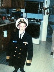 The youngest commander - promotion was fast in those days. Photo