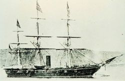 USS TUSCARORA - commanded by George Belknap Photo
