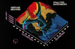 3-D image from NOAA Exclusive Economic Zone Mapping Project Photo