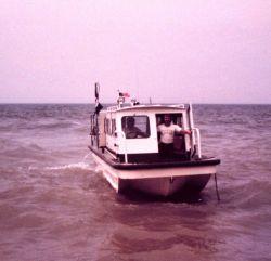 Inshore survey boat. Photo