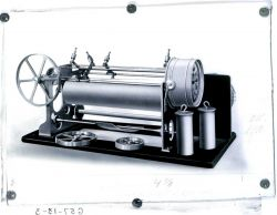 Water level recording instrument used by the U.S Photo