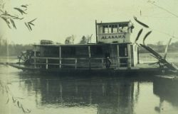 The mighty Alabama, a stern-wheel Tennessee River ferry boat. Photo