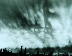 Mammatocumulus - often associated with tornado development Photo