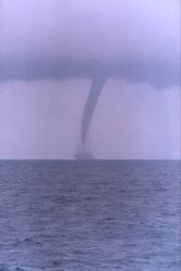 Large waterspout Photo