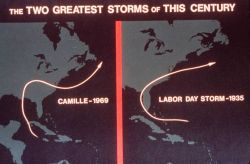 Tracks of Camille and the Labor Day Storm of 1935 The two deadliest storms of the Twentieth Century Photo