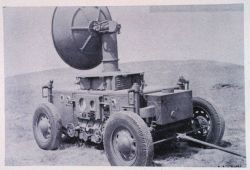Mobile radar set AN/TPL-1 which was designed for searchlight control Photo