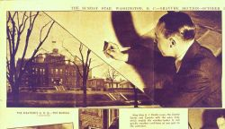 Weather Bureau map maker J.A Photo