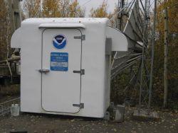 Alaska weather radio transmitter installation for Nenana Photo