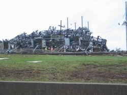 Debris from Joplin tornado Photo