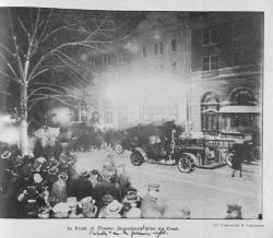 In front of the Knickerbocker Theater immediately after it collapsed Photo