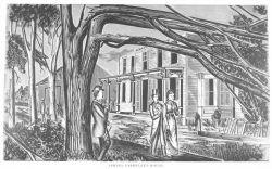 Samuel Parmelee's house following passage of the tornado of August 9, 1878 Photo