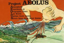Artwork for Project AEOLUS - Atmospheric Experiment on Orographic Flows Lee Image