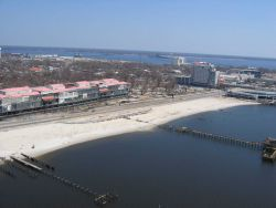 Biloxi Grand Casino barge 1,000 yards west of hotel on other side of Highway 90 Photo