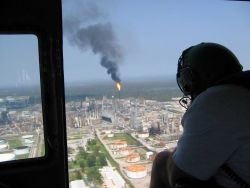 Motiva refinery west of New Orleans. Photo