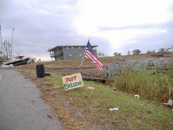 The aftermath of Katrina. Photo