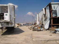 Aftermath of Hurricane Katrina. Photo