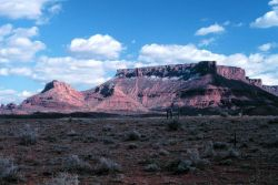 A classic mesa in the Colorado Plateau country. Image