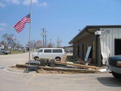 Aftermath of Hurricane Katrina Image