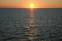 Sunset off Nantucket Photo