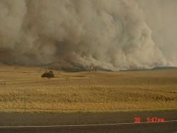 The Derby Fire continues unabated growth on its way to consuming 200,000 acres Photo