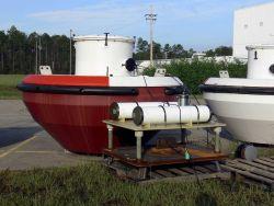 A NOAA tsunami buoy - DART surface buoy - with pressure sensor Image