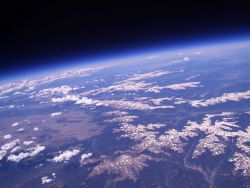 A balloon's eye-view from 96,925 feet Image