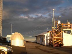 A cloudy morning at the Mauna Loa Observatory Image