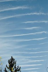 Gravity wave clouds forming over the Front Range of the Rocky Mountains. Photo