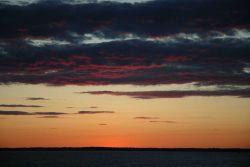 Sunset over Long Island Sound Photo