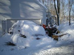 Almost dug out after major snowstorm. Image