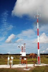 Automated Surface Observing System (ASOS) installation. Image