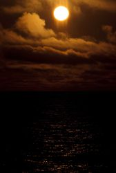 A Bering Sea sunset Image
