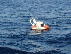 A DART II tsunami-warning buoy Image