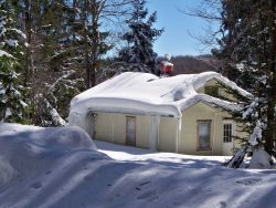Following record totals of snow in February 2010, a trip to the West Virginia mountains. Photo