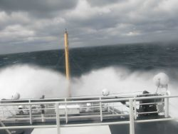 A squally day in the Gulf of Mexico Photo