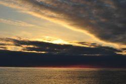 Sunset on the Bering Sea. Photo