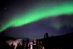 Aurora borealis - the Northern Lights. Image