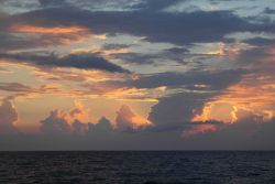 Sunset in the Gulf of Mexico Photo