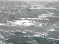Storm in Chatham Strait area. Photo