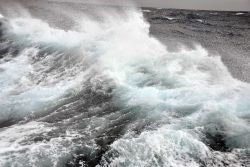 Heavy weather in the Gulf of Alaska. Photo
