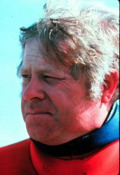 Bill High, former HYDROLAB aquanaut and NMFS scientist. Photo