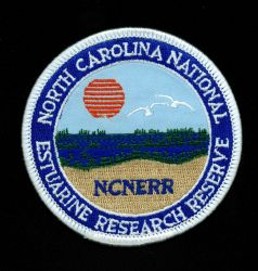 Patch commemorating NOAA's North Carolina National Estuarine Research Reserve. Photo