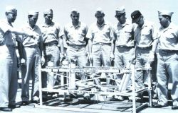 Fifth modern C&GS Officer Training Class on board the C&GS Ship EXPLORER, July 21, 1961 Photo