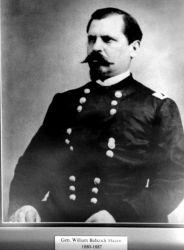 General William Babcock Hazen, head of the weather service 1880-1887. Photo