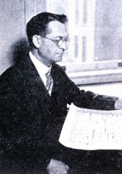 Joseph Burton Kincer, early Weather Service climatologist and an early advocate of the concept of climate change. Photo