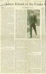 Article on Ernest Lester Jones,