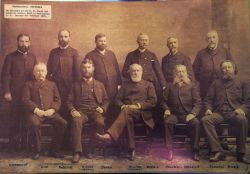 Attendees at C&GS Topographical Conference of 1892, Henry Whiting Chairman Photo